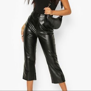 Boohoo Faux Leather Trousers